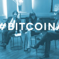 Bitcoin panel, bitcoin, blockchain, grayscale, ark invest, panel discussion, art laffer, Cathie Wood