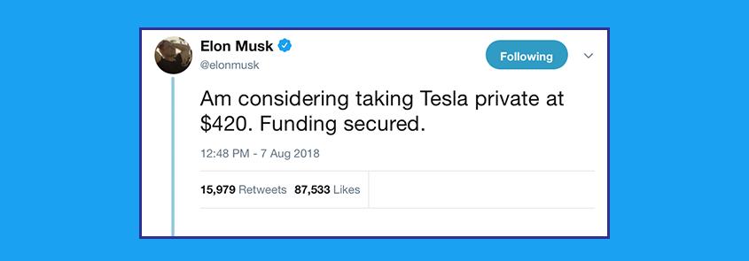 Tesla private
