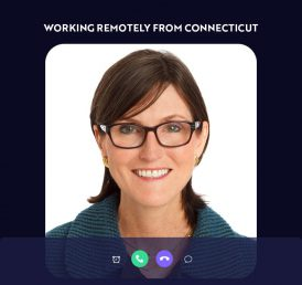 Cathie Wood, ARK, Remote Work