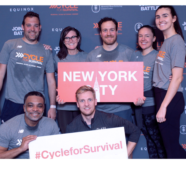 cycle for survival, fund raiser